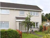 Three Bedroom End of Terrace House For Rent in Rosneath*Available 30th November*