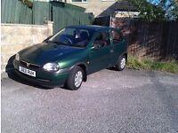 Vauxhall Corsa Automatic 1400cc 1999 'S' Reg. M.O.T. until JUNE2017