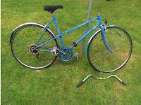 Retro Raleigh Mixte bicycle spares or repair Misty or Wisp ?