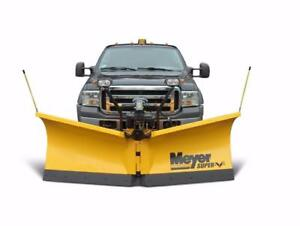 Brand New Meyer Snowplows - Meyer Super-V LD Snow Plow!
