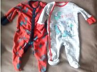 Baby Boy Clothes - 48 Items Next, M&S, Mothercare Ect - Newborn, 0-3, 3-6 ect.