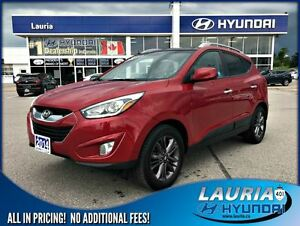 2014 Hyundai Tucson GLS FWD Auto - Power sunroof / Rear backup c