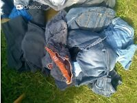 Men's Clothing Assortment for over 40 items.
