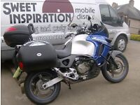 honda varadero XL 1000 X reg with low miles ,with paper work to back up miles ,please read add