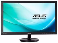 2 X ASUS 23.6 Inch 1080p IPS Monitors