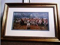 TRULY LOVELY LTD EDITION PRINT IN A FAB GOLD FRAME, PICTURE, PHOTO, PAINTING