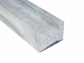 LAWMAC FENCING Manufactures Concrete Slotted Fence Posts from £10.50 6ft
