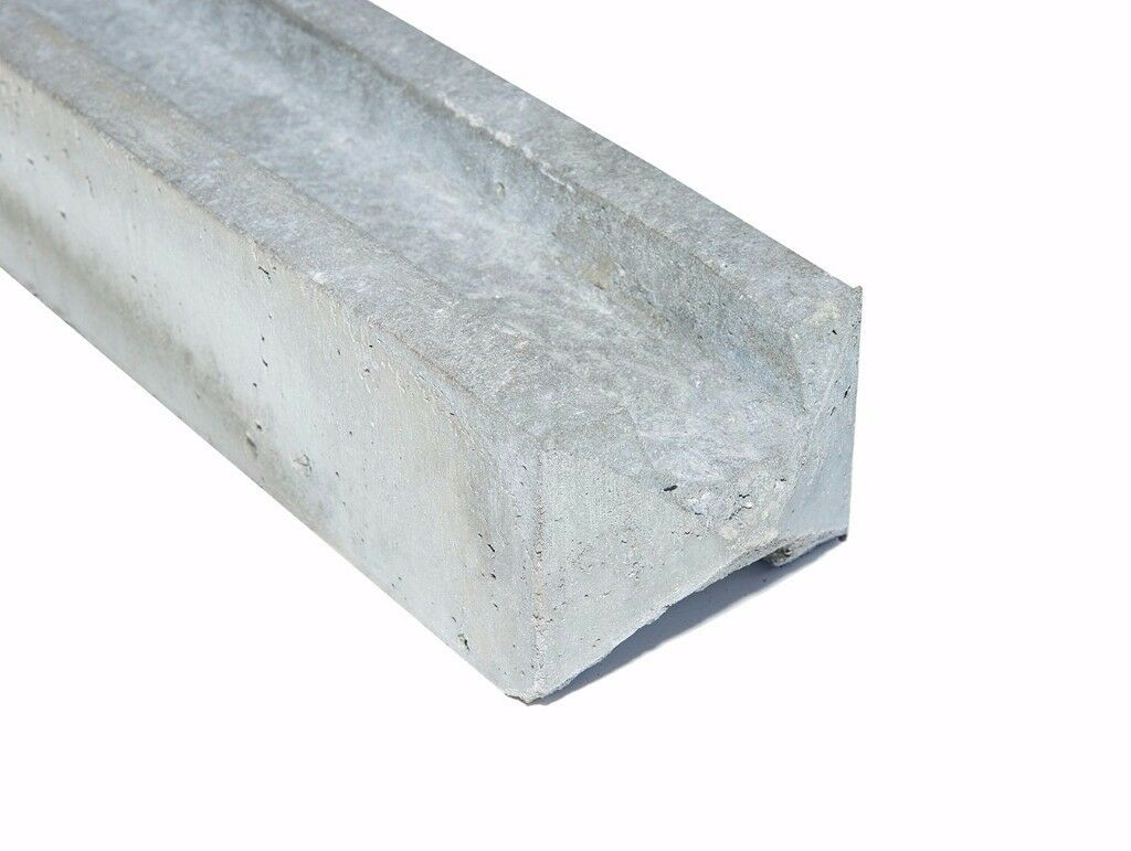 6' Concrete Slotted Fence Posts - £10.50