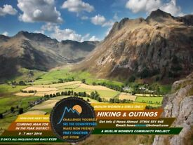 Hiking and Adventure Trips in the British Countryside for Muslim Women & Girls only