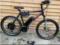 Lovely full electric mongoose bike for sale 1000w motor48v lithium