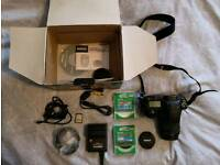 Pentax K20D camera, 18-55 lens and accessories