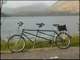 Thorn Tandem Bike - Classic British made Tandem in excellent condition. Medium size.