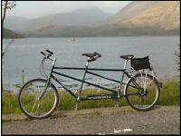 Thorn Tandem Bike - Classic British made Tandem in excellent condition. Medium size.