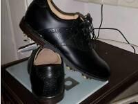 Footjoy golf shoes icon black opti-flex