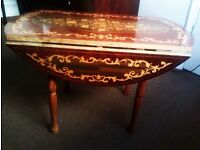 TRULY LOVELY EVERGREEN VERSATILE HAND MADE COFFEE TABLE