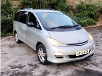 TOYOTA PREVIA 2.4 VVT-i T-SPIRIT 5DR AUTOMATIC PAN ROOF FULLY LOADED (7 SEATS)