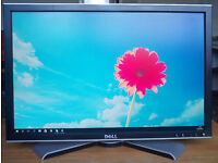 """22 Inch TFT LCD Monitor, 22"""" Dell UltraSharp 2208WFP with VGA and DVI"""