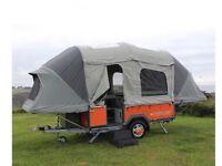 Opus folding camper