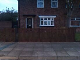 #Available from 6th july ## 2 bedroom house in in Whitley bay with conservatory.