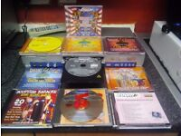 karaoke player with remote 9 discs includedscottish 60 70 80 90s / country etc