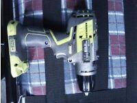 Ryobi brushless combi drill
