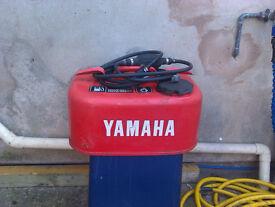 Metal Yamaha fuel tank 10L