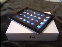 Apple iPad 2 Wi-Fi and 3G 16GB on O2 - Fully boxed with charger plug and USB cable
