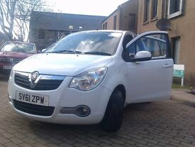 *Vauxhall Agila S 2011 36000 miles*Sugar White Pearlescent*£20 Yearly Road Tax*Superb Reliability*