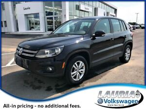 2014 Volkswagen Tiguan Trendline 4Motion AWD - LOW KMS