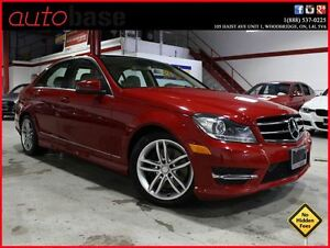 2014 Mercedes-Benz C-Class C300 4MATIC NAVI|PANORAMIC|DRIVING AS