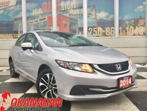 2014 Honda Civic EX SEDAN | 1 Owner | Sunroof | Heated Seats