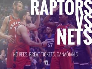 TIKTIKS | Raptors vs. Nets Oct 10th @ Bell Centre | Much cheaper than Ticketmaster. CAD$. No Fees.