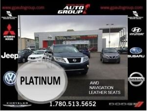 2014 Nissan Pathfinder Equipped with all the Bells and Whistles