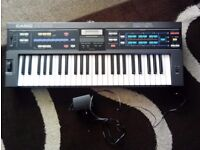 casio synth and charger