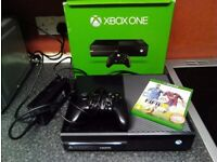 x box 1 boxed with controller and2 games