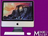 "20"" CORE 2.4GHZ APPLE IMAC 2GB 250GB HD ABLETON REASON AUTOCAD QUARK VECTORWORKS MS OFFICE"