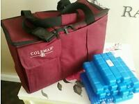 Cool bag with Ice blocks