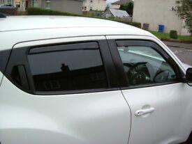 2011 Nissan Juke - Heko Wind Deflectors