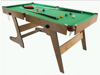 6ft Pool and Snooker Table