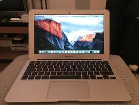 Macbook Air 11 Inch 1.7Ghz i5, 4GB RAM, 128GB SSD HD, Mid 2012 Model