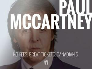 TIKTIKS | Paul McCartney Sept 20th @ Bell Centre | Much cheaper than StubHub. CAD$. No Fees. Canadian Company!