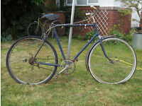 !! Now Sold !! Man's bicycle - BSA 1950's 1960's ? Vintage Retro