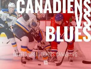 TIKTIKS | Canadiens vs. Blues Oct 17 @ Bell Centre | Cheaper than Ticketmaster. CAD$. No Fees. Canadian Company!