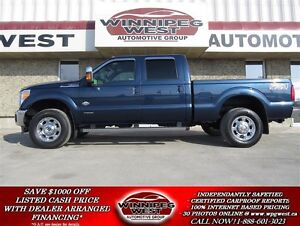2015 Ford F-350 KING RANCH CREW 4X4, 6.7L POWER STROKE DIESEL, L
