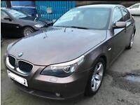 2004 BMW 520I E60 BLACK LEATHER 6 SPEED LOW MILES LONG MOT DRIVES LOVELY 530i 530d 525i 525d