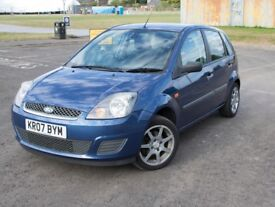 FOR SALE! | FORD FIESTA STYLE | 2007 | BLUE | DIESEL | MOT APRIL | 1.4L | 1399CC | 106,753 MILES