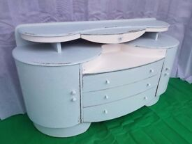 Shabby Chic Retro Sideboard / Chest of Drawers / Dresser - DELIVERY AVAILABLE