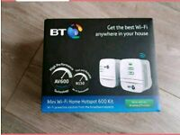 NEW BT mini WiFi home hotspot 600 kit.