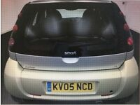 2005 smart forfour 1.3 petrol 5 doors