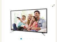 """Sharp 49"""" Full LED HDTV 1080p - 3 Months Old"""